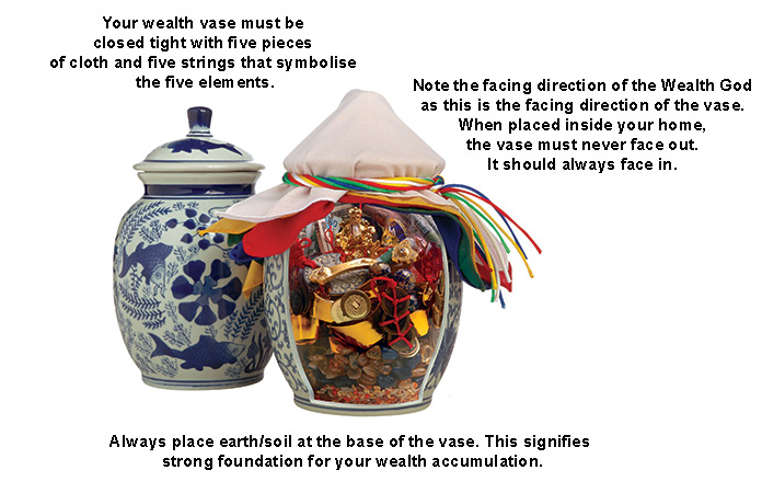 How To Make Your Own Wealth Vase Wofs