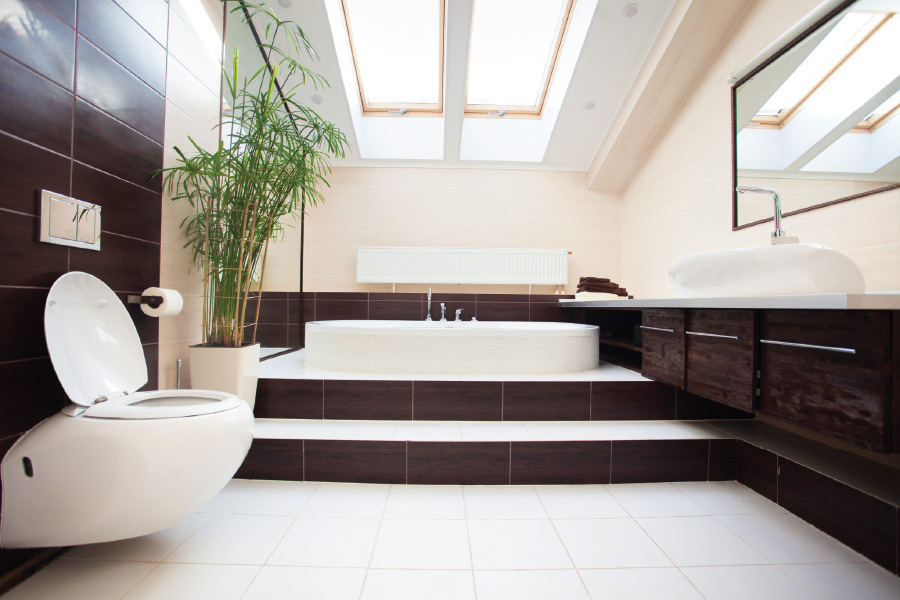 When you start designing the bathroom, first look at what layout suits your lifestyle and plan. Then look at ways to create feature walls for key elements ...
