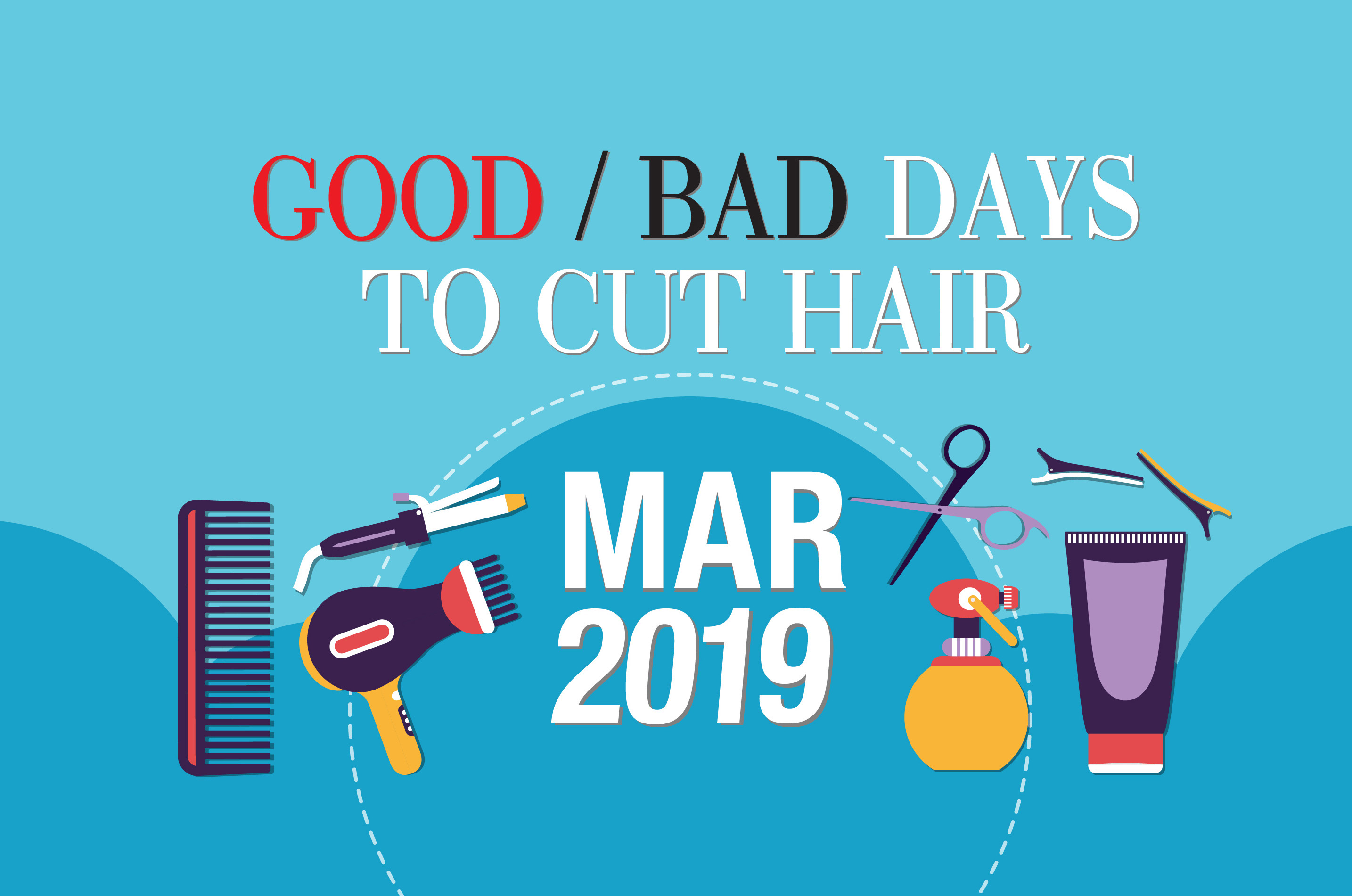 Best Days To Cut Hair For Growth 2020 Good & Bad Days to Cut Hair for March 2019   WOFS.com
