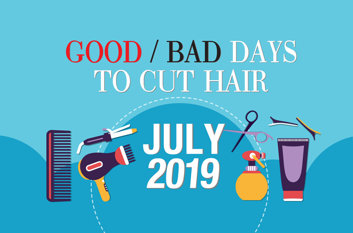 Good Amp Bad Days To Cut Hair For July 2019 Wofs Com