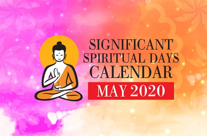 Significant Spiritual Days For May 2020 Wofs Com